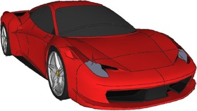 法拉利458模型